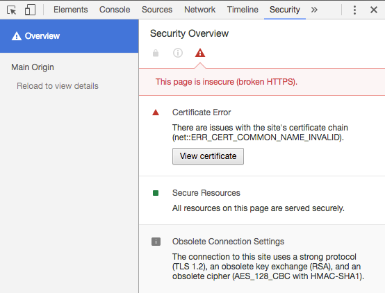 PAX Troubleshooting: How to test the certificate on your device