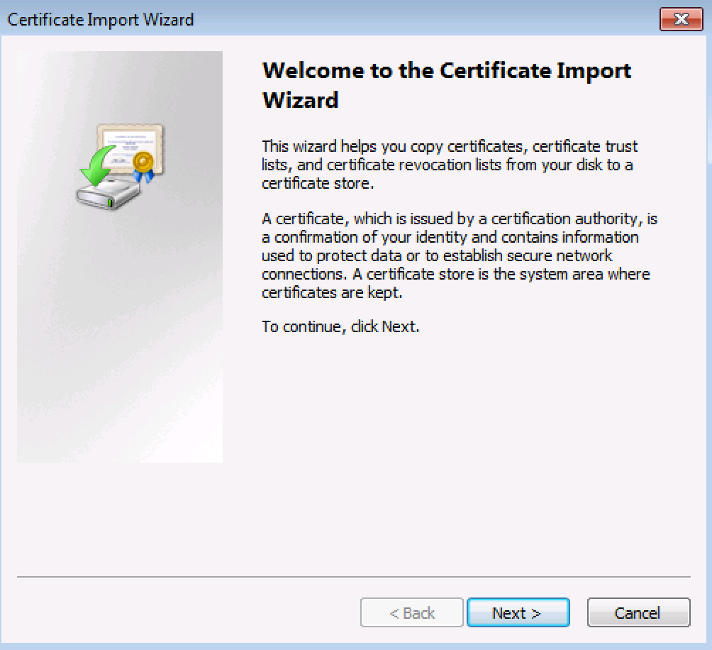 How to Install the PAX Device Security Certificate (Windows 8) – RepairQ