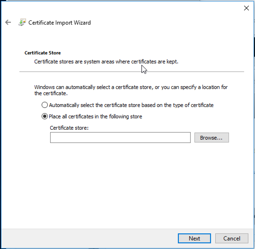 How To Install The Pax Device Security Certificate Windows Repairq